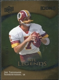 2009 Upper Deck Icons Gold Foil #179 Joe Theismann /99