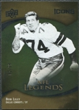 2009 Upper Deck Icons Gold Foil #181 Bob Lilly /99
