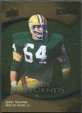 2009 Upper Deck Icons Gold Foil #197 Jerry Kramer /99