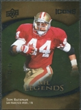 2009 Upper Deck Icons Gold Foil #199 Tom Rathman /99