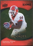 2009 Upper Deck Icons Gold Foil #107 Knowshon Moreno /99