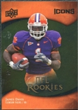 2009 Upper Deck Icons Gold Foil #108 James Davis /99