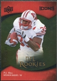 2009 Upper Deck Icons Gold Foil #110 P.J. Hill /99