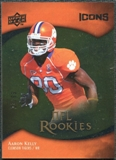 2009 Upper Deck Icons Gold Foil #116 Aaron Kelly /99