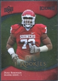 2009 Upper Deck Icons Gold Foil #129 Duke Robinson /99