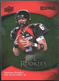 2009 Upper Deck Icons Gold Foil #137 Graham Harrell /99