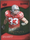2009 Upper Deck Icons Gold Foil #154 James Laurinaitis /99