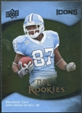 2009 Upper Deck Icons Gold Foil #156 Brandon Tate /99