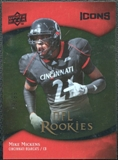 2009 Upper Deck Icons Gold Foil #163 Mike Mickens /99