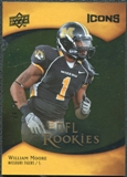 2009 Upper Deck Icons Gold Foil #165 William Moore /99