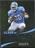 2009 Upper Deck Icons Class of 2009 Silver #HN Hakeem Nicks /450