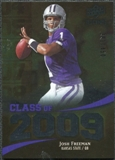 2009 Upper Deck Icons Class of 2009 Silver #JF Josh Freeman /450