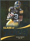 2009 Upper Deck Icons Class of 2009 Silver #SG Shonn Greene /450