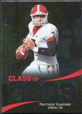 2009 Upper Deck Icons Class of 2009 Silver #ST Matthew Stafford /450
