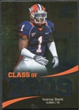 2009 Upper Deck Icons Class of 2009 Silver #VD Vontae Davis /450