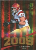 2009 Upper Deck Icons Class of 2009 Gold #CM Clay Matthews /130