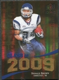 2009 Upper Deck Icons Class of 2009 Gold #DB Donald Brown /130