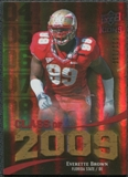 2009 Upper Deck Icons Class of 2009 Gold #EB Everette Brown /130