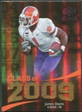 2009 Upper Deck Icons Class of 2009 Gold #JD James Davis /130