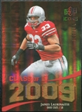 2009 Upper Deck Icons Class of 2009 Gold #JL James Laurinaitis /130