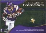 2009 Upper Deck Icons Decade of Dominance Silver #DDAP Adrian Peterson /450