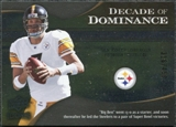 2009 Upper Deck Icons Decade of Dominance Silver #DDBR Ben Roethlisberger /450