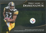 2009 Upper Deck Icons Decade of Dominance Silver #DDHW Hines Ward /450