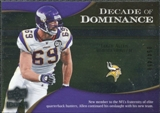 2009 Upper Deck Icons Decade of Dominance Silver #DDJA Jared Allen /450