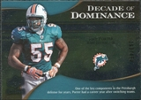 2009 Upper Deck Icons Decade of Dominance Silver #DDJP Joey Porter /450