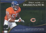 2009 Upper Deck Icons Decade of Dominance Silver #DDLB Lance Briggs /450