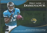 2009 Upper Deck Icons Decade of Dominance Silver #DDMJ Maurice Jones-Drew /450