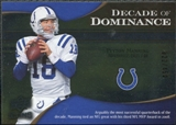 2009 Upper Deck Icons Decade of Dominance Silver #DDPM Peyton Manning /450