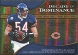 2009 Upper Deck Icons Decade of Dominance Gold #DDBU Brian Urlacher /130