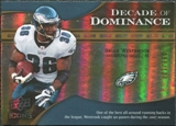 2009 Upper Deck Icons Decade of Dominance Gold #DDBW Brian Westbrook /130