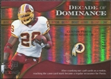 2009 Upper Deck Icons Decade of Dominance Gold #DDCP Clinton Portis /130