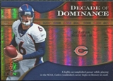 2009 Upper Deck Icons Decade of Dominance Gold #DDCU Jay Cutler /130
