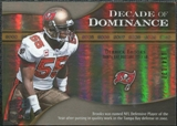 2009 Upper Deck Icons Decade of Dominance Gold #DDDB Derrick Brooks /130