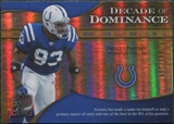 2009 Upper Deck Icons Decade of Dominance Gold #DDDF Dwight Freeney /130