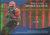 2009 Upper Deck Icons Decade of Dominance Gold #DDHO T.J. Houshmandzadeh /130