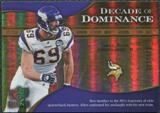 2009 Upper Deck Icons Decade of Dominance Gold #DDJA Jared Allen /130
