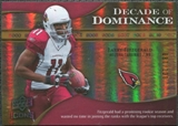 2009 Upper Deck Icons Decade of Dominance Gold #DDLF Larry Fitzgerald /130