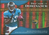 2009 Upper Deck Icons Decade of Dominance Gold #DDMJ Maurice Jones-Drew /130