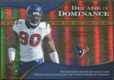 2009 Upper Deck Icons Decade of Dominance Gold #DDMW Mario Williams /130