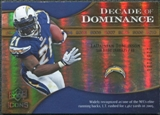 2009 Upper Deck Icons Decade of Dominance Gold #DDTO LaDainian Tomlinson /130