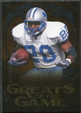 2009 Upper Deck Icons Greats of the Game Silver #GGBS Barry Sanders /450