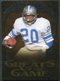2009 Upper Deck Icons Greats of the Game Silver #GGSI Billy Sims /450