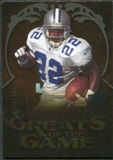 2009 Upper Deck Icons Greats of the Game Gold 199 #GGES Emmitt Smith /199