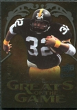 2009 Upper Deck Icons Greats of the Game Gold 199 #GGFH Franco Harris /199