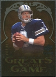 2009 Upper Deck Icons Greats of the Game Gold 199 #GGTA Troy Aikman /199