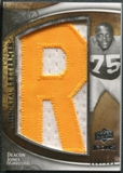 2009 Upper Deck Icons Immortal Lettermen #ILDJ Deacon Jones/131/(Letters spell out RAMS/ Total print run 524)